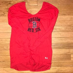 Under Armor Red Sox long sleeve
